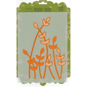Аппликация для термопереноса, Prima Iron-ons Pink and Orange Daisies