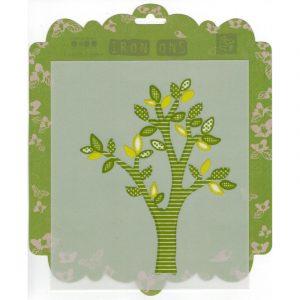 Аппликация для термопереноса, Prima Iron-ons Green Tree