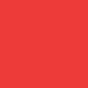 Кардсток гладкий матовый Сover Board Classic, цвет красный