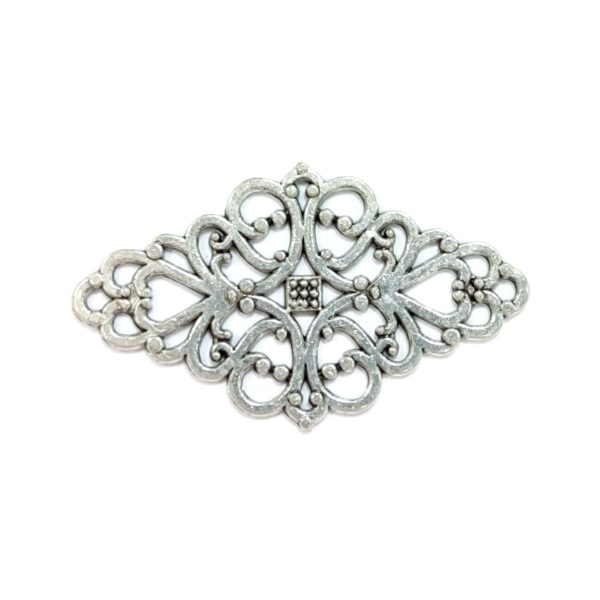 Декоративный накладной элемент цвет серебряный