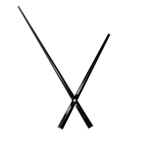 """Комплект стрелок для усиленных часов 167/243 мм """"Классические"""""""