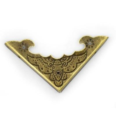 Декоративный уголок ШУМ13 цвет бронзовый