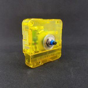 Часовой механизм кварцевый дискретный 12/5 мм, прозрачный
