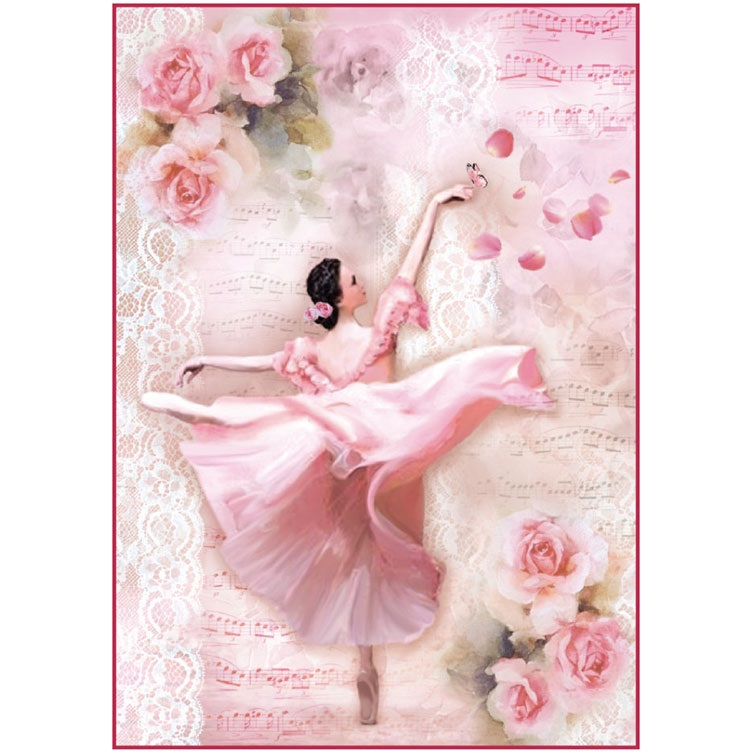 Прикольные картинки, танцовщица открытка