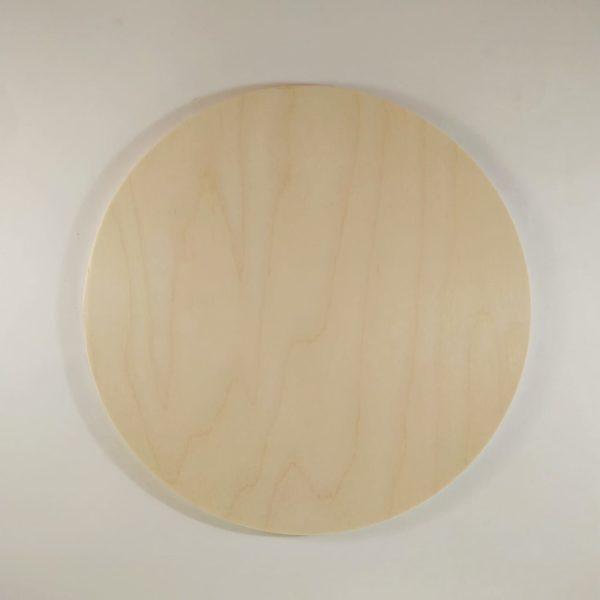 Круг деревянный 25см, фанера
