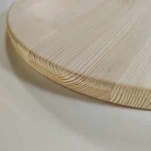 Круг деревянный 40см, сосна.