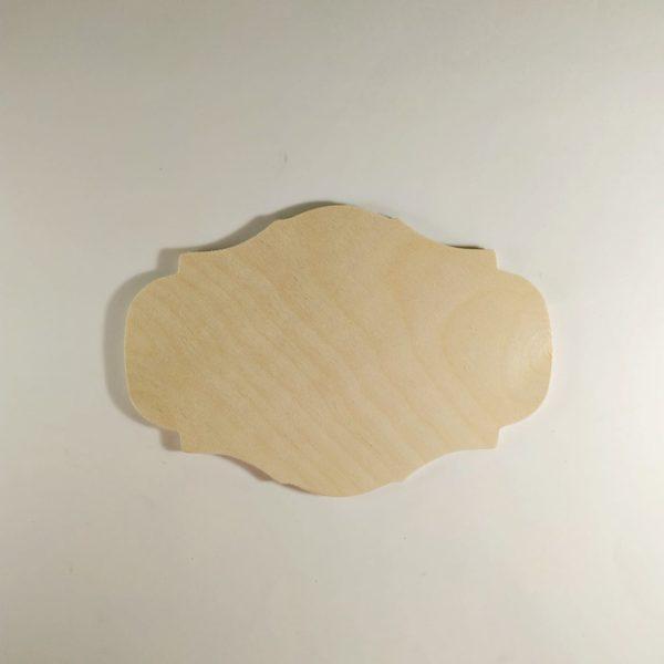 Панно деревянное 15*22см, фанера
