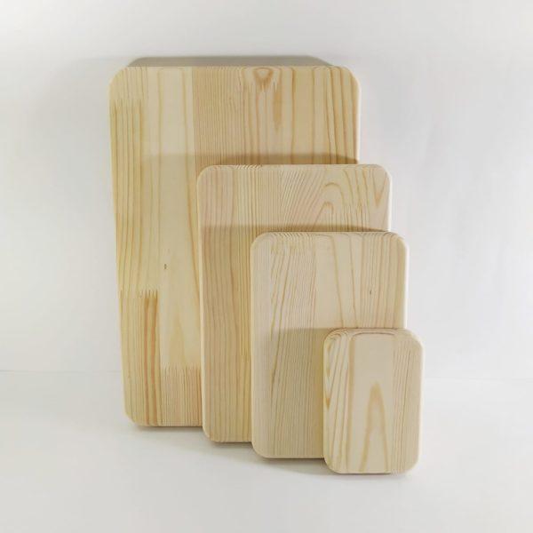 Заготовки деревянные прямоугольник сосна