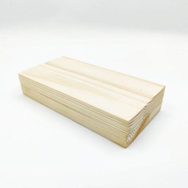 Купюрница деревянная цельная