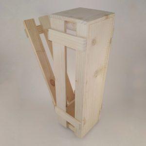 Короб деревянный для бутылки