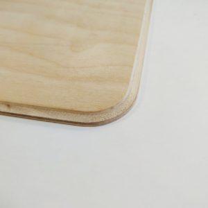 Фаска для панно прямоугольного со скругленным краем из фанеры