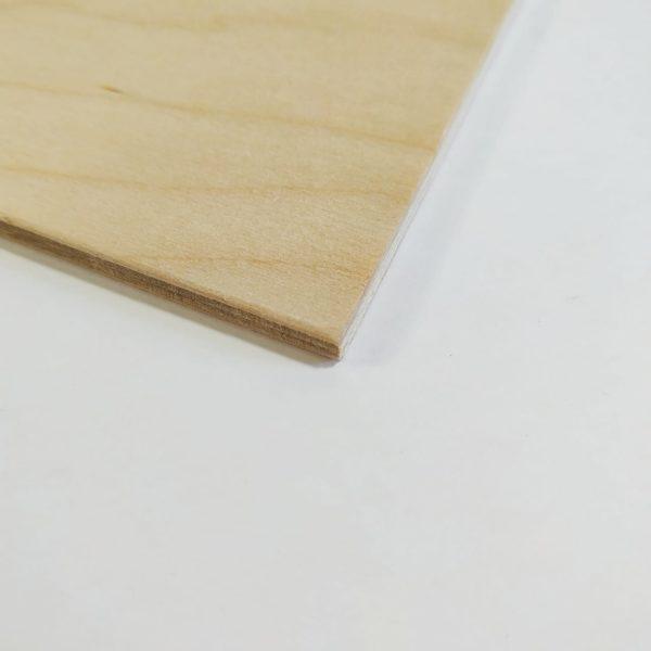 Фаска прямоугольной заготовки из фанеры