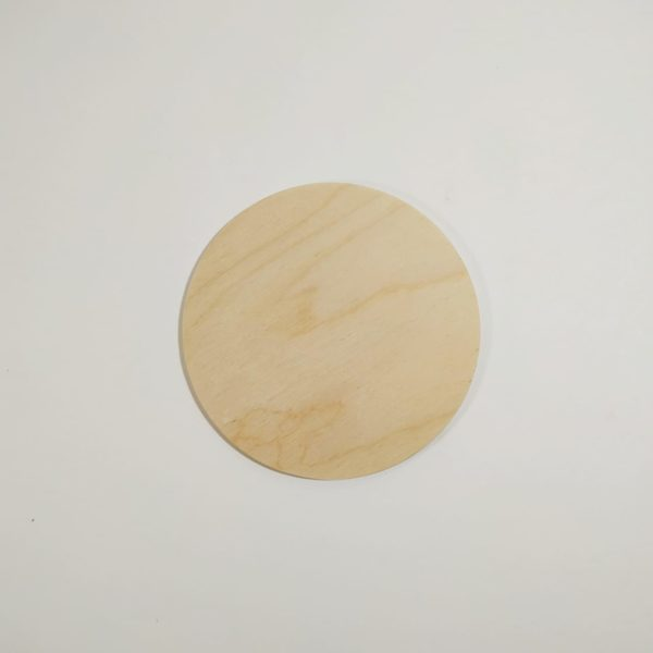 Заготовка деревянная круг 15см, фанера