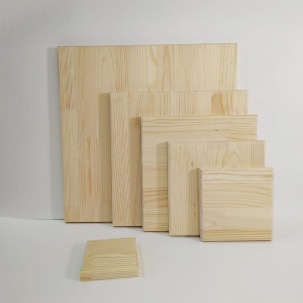 Заготовки деревянные квадраты сосна