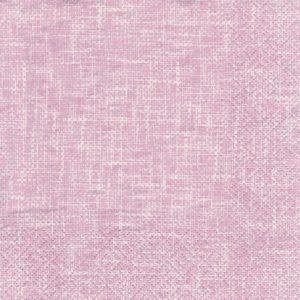 "Салфетка бумажная трехслойная для декупажа ""Структура льна - розовый"""