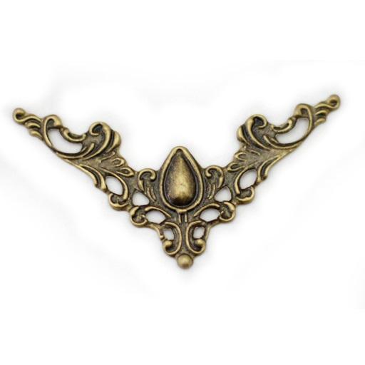 Декоративная накладка цвет бронзовый