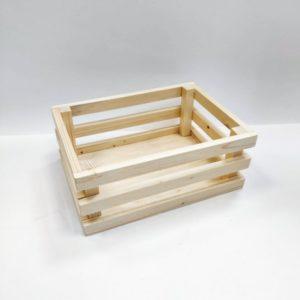 Ящик реечный декоративный средний, сосна