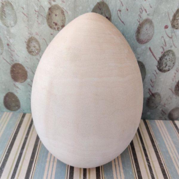 Яйцо деревянное 17 см