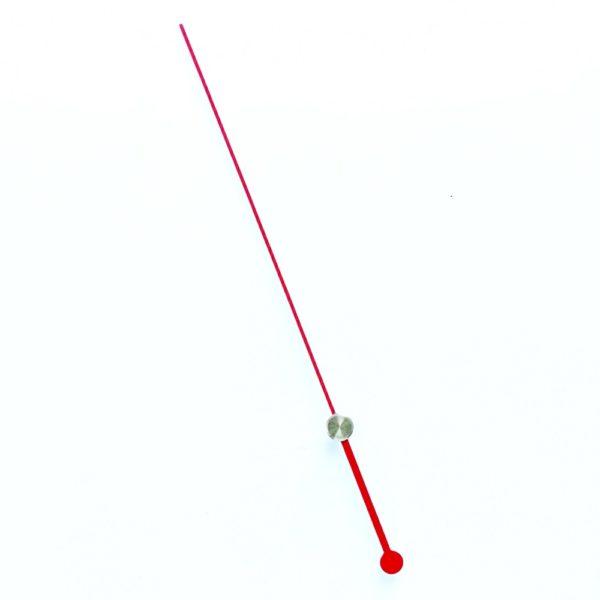 Стрелка секундная для усиленных часов красная
