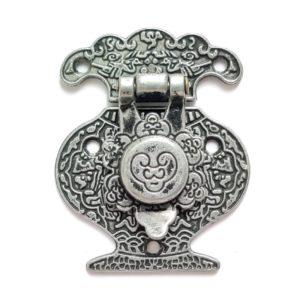 """Замочек декоративный """"Кувшин"""", цвет античное серебро"""