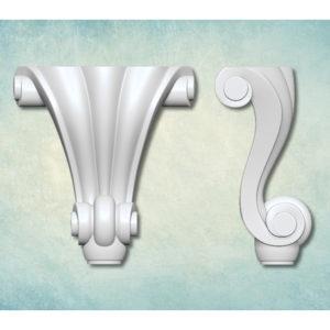 Комплект молдов 3D Ножка Классическая