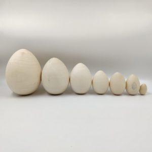 Заготовка деревянная Яйцо