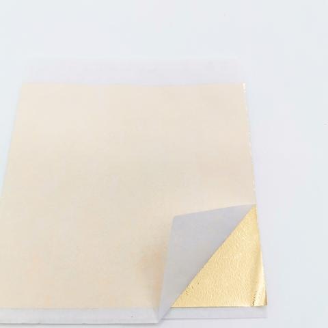 Поталь зеркальная, цвет золото, 9х9см.