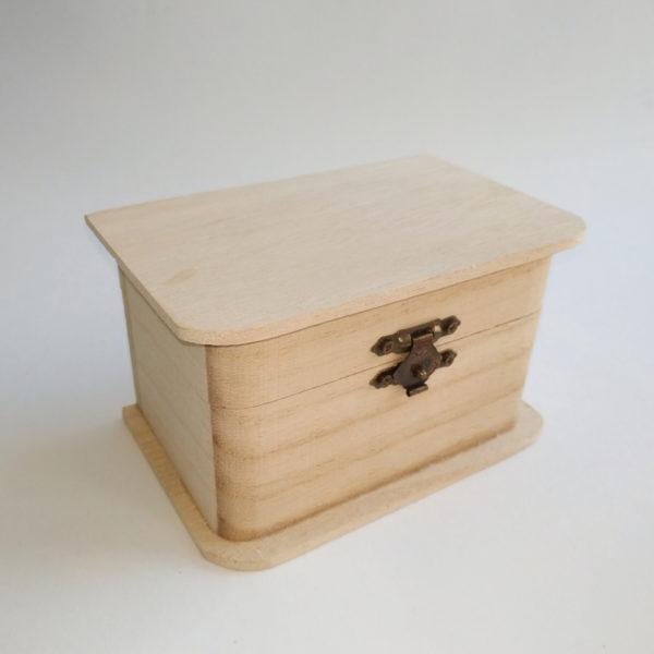"""Шкатулка из бамбука """"Сундучок"""" 8*12,5*7,5 см"""