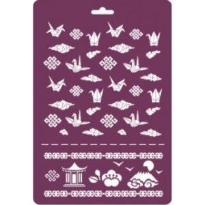 "Трафарет многоразовый ""Оригами"", 31х47 см"