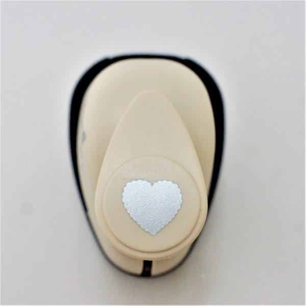 Фигурный дырокол «Ажурное сердце» 2,5 см