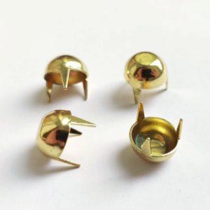 Ножки декоративные на иголках 4 шт цвет золотой