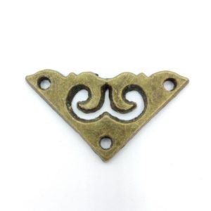Накладной элемент цвет бронзовый ШНМ56