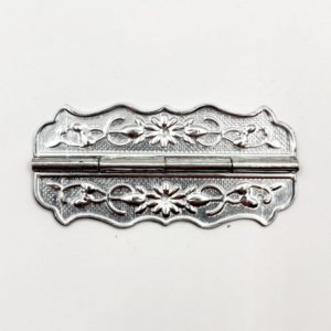 Петля декоративная цвет серебряный
